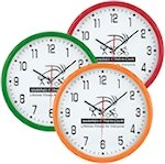 12 Inch Round Thin Wall Clocks